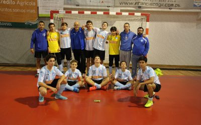 Vitória de Santarém conquista primeira vitória no Campeonato Nacional de Iniciados