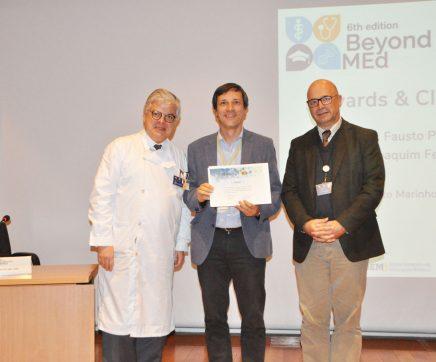 Miguel Castanho agraciado com o Prémio de Mérito Pedagógico da Faculdade de Medicina de Lisboa