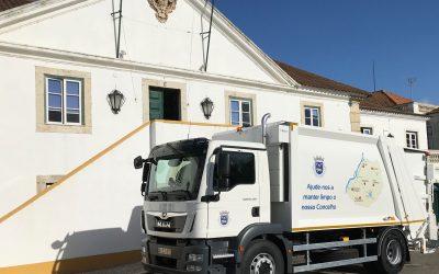 Salvaterra de Magos investe 150 mil euros em veículo de recolha de resíduos sólidos urbanos
