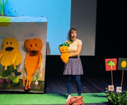 Rita Redshoes apresenta projecto pedagógico sobre alimentação na Chamusca