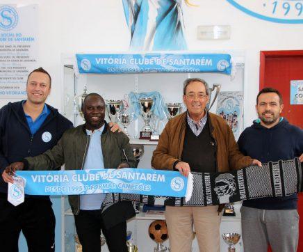 Vitória Clube de Santarém estabelece parceria na Guiné-Bissau