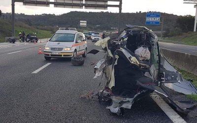 Vítima mortal de violento acidente na A1 é empresário hoteleiro da zona de Lisboa