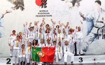 Amicale Karaté – Portugal Martial Arts conquistam 30 medalhas no Campeonato do Mundo