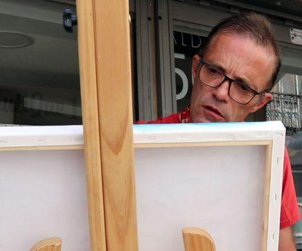 António Canavarro inaugura ciclo de exposições de artes plásticas