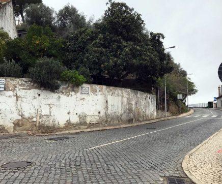 Estrada da Estação cortada temporariamente devido a perigo de desmoronamento