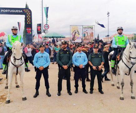 Guardia Civil e Gerdarmerie colaboram no policiamento da Feira da Golegã