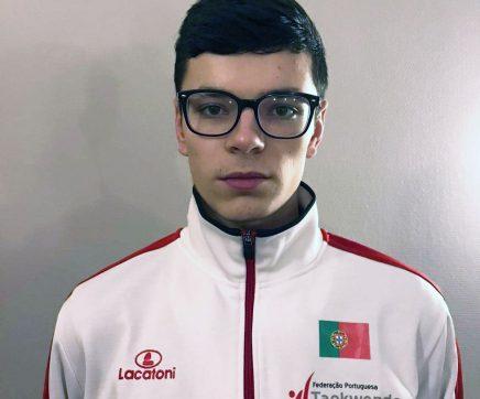 Lucian Procopciuc representa Almeirim no Europeu de Taekwondo