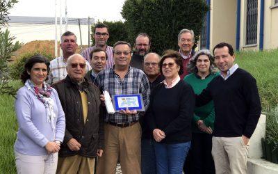 Manuel Picado homenageado pela Agro Ribatejo por 50 anos de casa