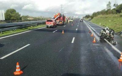 Despiste provoca uma vítima mortal na A1