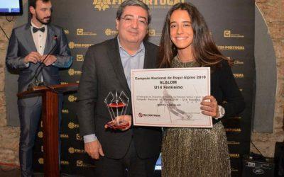 Marta Carvalho campeã nacional de Slalom