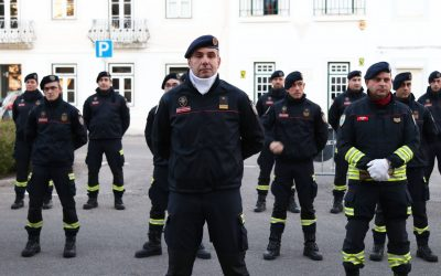 Bombeiros Sapadores de Santarém alteram horário de 12 para 24 horas