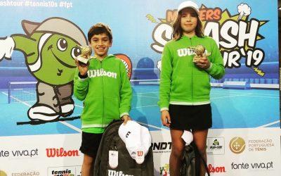 Atletas do Clube de Ténis de Santarém conquistam título nacional sub-10 por equipas