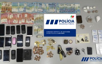 Cinco mulheres e seis homens detidos por tráfico de droga em Santarém