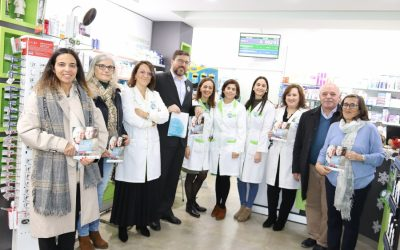 Campanha solidária das farmácias arrancou em Pernes e prolonga-se até 25 de Dezembro
