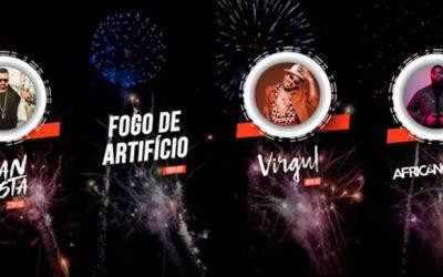 Passagem de ano com Virgul, Iran Costa e Dj African Groove em Santarém