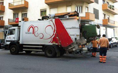Santarém sem recolha de resíduos urbanos no dia de Natal e Passagem de Ano