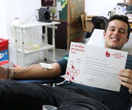 FOTOGALERIA   11 novos dadores na recolha de sangue no Correio do Ribatejo