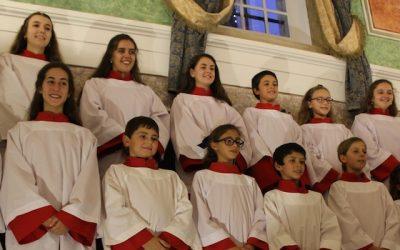 Schola Cantorum da Catedral de Santarém apresenta canções de Natal em Carcavelos