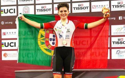 Maria Martins faz segundo lugar em omnium e está perto cada mais perto do Jogos Olímpicos