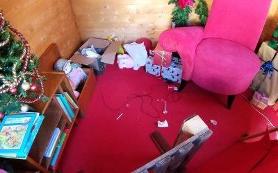 Casa do Pai Natal de Rio Maior alvo de furto e vandalismo