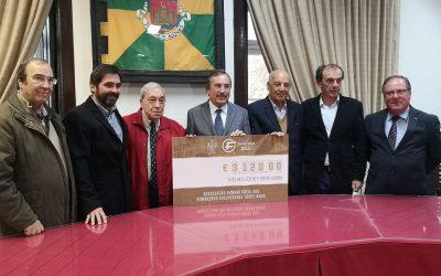 Bombeiros Voluntários Torrejanos recebem receita da Supertaça de Futsal