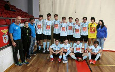 Vitória Clube de Santarém vence encontro particular com o SL Benfica