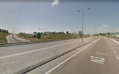 EN 3 e Rua O com condicionamentos de trânsito devido a intervenção nas luminárias