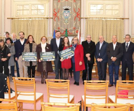 Três IPSS's de Santarém recebem 7500 euros angariados no Concerto de Ano Novo