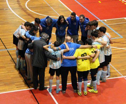 Vitória de Santarém com triunfo memorável no Nacional Sub-15 de Futsal