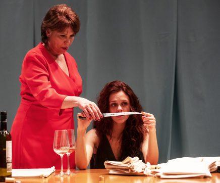 Peça do Teatro D. Maria II 'Um Outro Fim Para a Menina Júlia' no Cartaxo