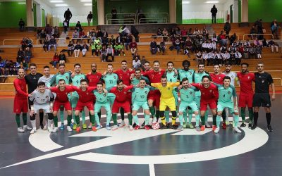Seleção nacional de futsal perde em jogo-treino com os sub-21 em Rio Maior