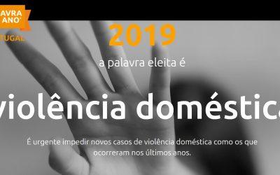 """""""Violência Doméstica"""" é a palavra do ano 2019 em Portugal"""