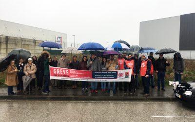 Trabalhadores da Dia Minipreço em luta por melhores condições laborais em Torres Novas