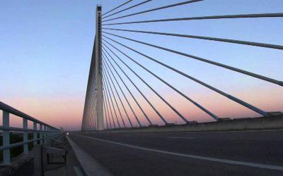 Obras condicionam trânsito na Ponte Salgueiro Maia