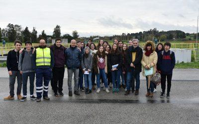 Alunos visitam ETAR de Torres Novas que transforma esgoto em água e lamas de qualidade