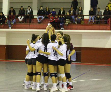 CD Fátima sagra-se campeão Inter-Regional em voleibol feminino