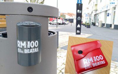 """Rio Maior lança programa """"RM 100 Beatas' para combater lixo nas ruas"""