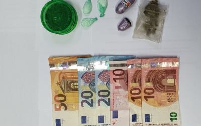 Homem de 24 anos detido por tráfico de droga