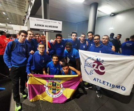 Atletismo dos 20km de Almeirim estreia-se com pódio na 2ª divisão nacional