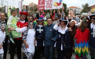VÍDEO E FOTOS | CCCD das Abitureiras vence desfile de Carnaval em Santarém