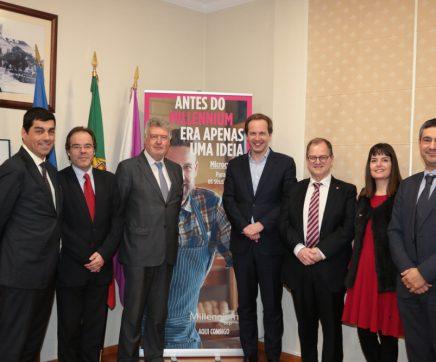 Município do Cartaxo e Millennium BCP assinam acordo de cooperação para criação de novas empresas