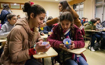Crianças da Chamusca recebem kit de saúde oral