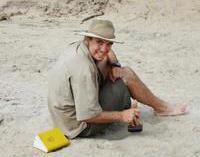Arqueólogo Trent Michael Trombley dá conferência em Santarém