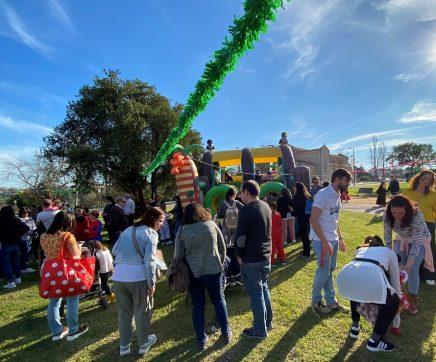 Famílias celebram o Carnaval em Santarém