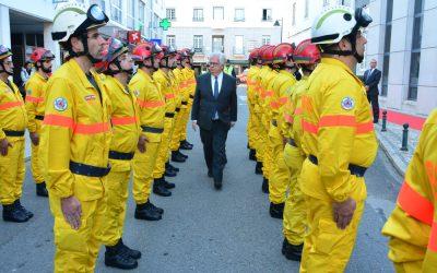 Proteção Civil instala Força Especial de Emergência e Proteção Civil em Almeirim