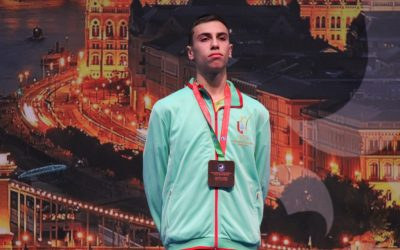 Karateca do Cartaxo conquista medalha de bronze no Campeonato da Europa