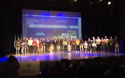 Torres Novas homenageou atletas, clubes e dirigentes na 4ª Gala do Desporto