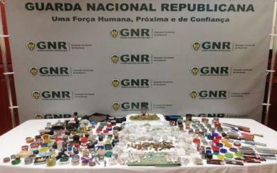 Detidas 26 pessoas por tráfico de droga na Calha do Grou