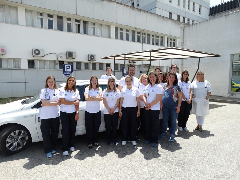 Unidade de Hospitalização Domiciliária do HDS já realizou 1247 visitas em seis meses