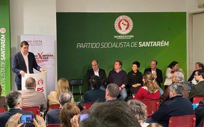 """Hugo Costa candidata-se à liderança da Federação Distrital do PS Santarém para ser """"uma voz pela unidade regional"""""""
